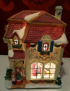 Christmas Village  Family home, a scene in the  house,  light not included
