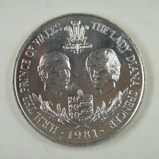 GUERNSEY 25 Pence 1981 UNC, Wedding of Prince Charles and Lady Diana