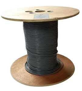 2 Pair Belden Equiv 8723 LSF Shielded Grey Cable Wire Various Lengths Available