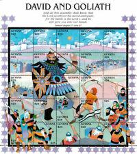 Guyana -1992- David And Goliath - Sheet Of 25 - MNH