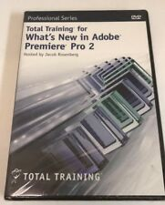 Total Training for What's New in Adobe Premiere Pro 2 (DVD) Sealed! Brand New