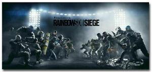New Tom Clancys Rainbow Six Siege Game Silk Wall Poster Wallpaper Art Print