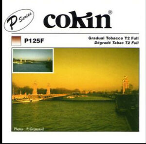 Cokin P125F Gradual Tobacco T2 Full - Made in France -  Free US Shipping