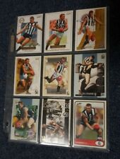 NATHAN BUCKLEY SET OFF 9 CARDS CFC01 - CFC09 OFFICIAL COLLINGWOOD RELEASE
