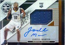 2015-16 Panini Limited Spotlight JARRELL MARTIN Autograph RC Jersey Patch /99