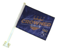 Kansas City Royals 11X14 Window Mount 2-Sided Car Flag