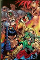 ✨*✨ BATTLE CHASERS 1 CHROMIUM CHROME VARIANT NM 1998 1ST FIRST IMAGE COMIC BOOK