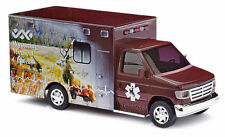 LIMITED EDITION HO Busch # 41832 Ford E-350  Wyoming Medical Ambulance