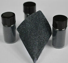 Exclusive Bizzy Nails Cosmetic Micro Glitter Holographic Black .1mm Acrylic Gel