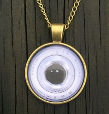 Camera Necklace Lens pendant Handmade Vintage Pendant Antique charm gift for her