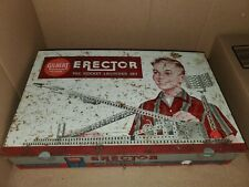 A C Gilbert Erector #10053 Rocket Launcher Set, Original * Parts Missing
