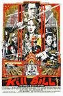 Kill Bill Volume 1 II Movie Poster A1 High Quality Canvas Art Print