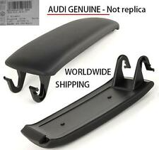 Audi A4/S4 (03-08) Center Console Armrest Lid BLACK GENUINE 8E0864245P38M