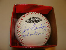 Blue Jays Jose Bautista Signed Rawlings Baseball 2011 All Star Most Votes Ever