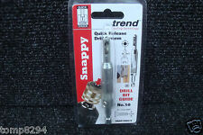 TREND SNAPPY HINGE FITTING DRILL BIT GUIDE No10 SNAP/DBG/9