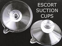 Escort Radar Detector Windshield Suction Cups 7500 8500 X50 9500i 9500ix Solo S2