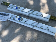 NEW PAIR OF REPLACEMENT 1955 AND 1956 CHEVROLET BEL AIR SIDE TRIM !