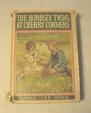 """""""The Bobbsey Twins At Cherry Corners"""" 1927 Antique Hardcover Book Laura Lee Hope"""