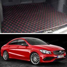 Premium Car Trunk Mat Leather Waterproof Fit for 2014-2017 Mercedes-Benz CLA