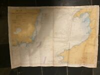 Large Vintage 1993 Colour Admiralty Chart 1410 Saint George's Channel