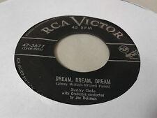 Sunny Gale 45 Dream, Dream, Dream/Don't Cry Mama RCA Victor 475677