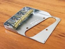 """Fender """"Top Load"""" Telecaster Hybrid Notched Bridge - w/ Custom Comp. Saddles"""