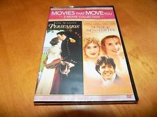 PERSUASION / SENSE & SENSIBILITY  Movie That Move You 2-Movie Collection DVD New