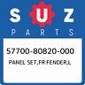 57700-80820-000 Suzuki Panel set,fr fender,l 5770080820000, New Genuine OEM Part