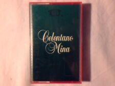 ADRIANO CELENTANO MINA Omonimo Same S/t 1985 mc cassette k7 COME NUOVA LIKE NEW!