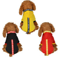 Summer Pet Dog Hoodie Clothes Coat Small Puppy Cat Sweater Shirt Costume Apparel