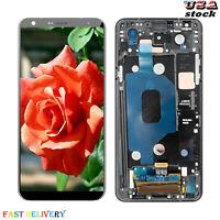 Fit For LG Stylo 4 Q710 Q710MS 丨Stylo 5 Q720 LCD Touch Screen Digitizer ± Frame