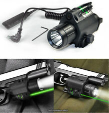 Tactical M6 LED Flashlight / LIGHT Combo + Green Laser Sight for Shotgun