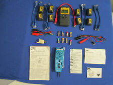 IDEAL LINKMASTER PRO CABLE NETWORK TESTER WITH ALL ACCESSORIES SHOWN