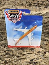 Matchbox Skybusters Orange Boeing 747-400 Commercial Jet New