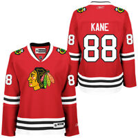 Chicago Blackhawks Women's Patrick Kane Premier Jersey - Red #88