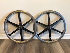 "RARE Vintage SPINERGY ROKS XE 26"" Mountain Bike MTB Wheels Wheelset"