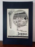 Pubblicità originale Zoppas anni '60 rifilatura da rivista in passepartout
