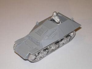 Early War 20mm (1/72) German Beobachtungswagen auf Lorraine Schlepper (f)