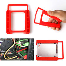 """1PC Hot Hard Drive 2.5"""" to 3.5""""  HDD Adapter Plastic Bay Caddy  SSD  Mounting"""