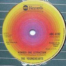 """YOUNGHEARTS - Number One Attraction - Excellent Condition 7"""" Single ABC 4192"""