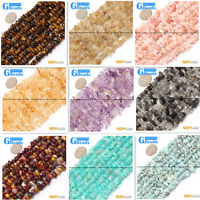 """4-6x7-10mm Assorted Stones Freeform Chips Nugget Beads For Jewelry Making 15"""" GB"""