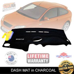 DASH MAT for FORD Focus LS LT LV XR5 Turbo 5/2005-5/2011 in Black AIR-BAG DM1030