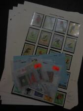EDW1949SELL : Papua Beautiful VFMNH collection of Topicals mostly Birds Cat $330
