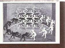 M. C. Escher  Encounter  1944  from a Lithograph  1995  Postcard 6108