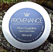 Provenance Micro Crystalline Wax Polish for Wood Metal Multi Surfaces 150ml