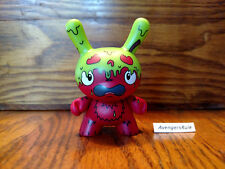 Dunny Series the Bots' Scared Silly KidRobot Candy Apple Green 2/24
