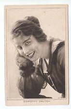 Dorothy Dalton (Died 1972) American Silent Film Actress c1918 Pictures Portrait