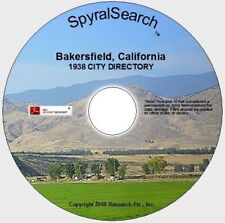CA - Bakersfield 1938 City Directory