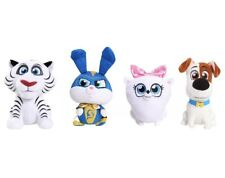 Secret Life Of Pets 2 Plush Set Of 4 Gidget Max Captain Snowball And Hu NEW Toys