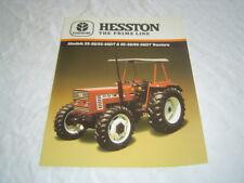 Fiat Hesston 55-56 55-56DT  tractor brochure